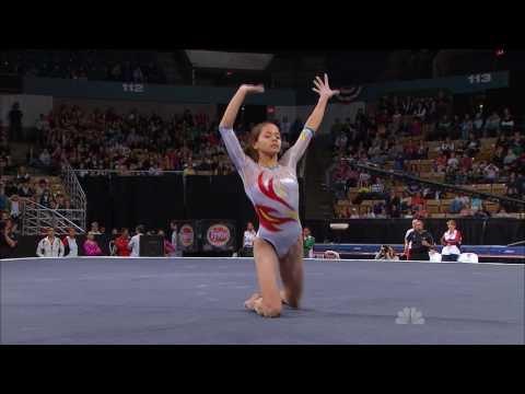 Jessica Lopez - Floor Exercise - 2010 Tyson American Cup