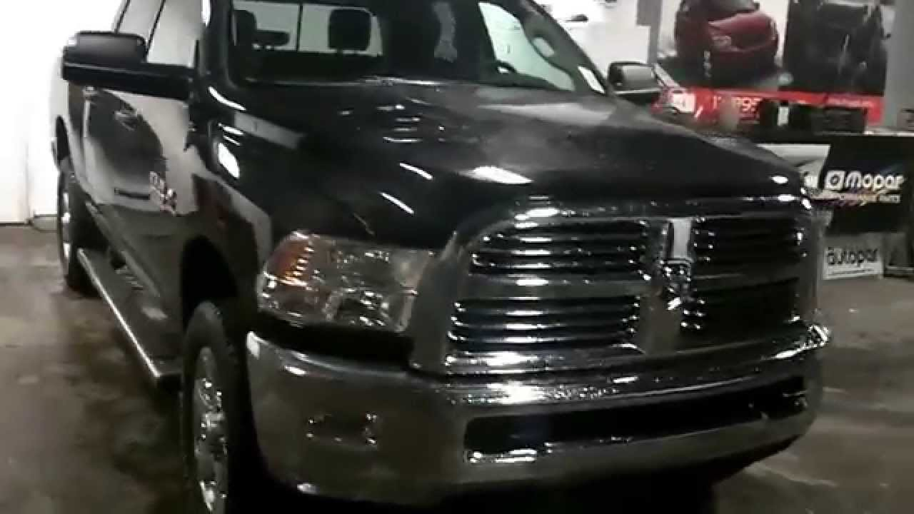 2014 Ram 2500 Heavy Duty Cummins Diesel SLT Black - YouTube