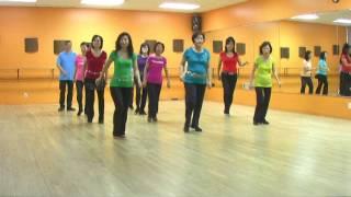 Dog River Blues Line Dance (Dance & Teach In English