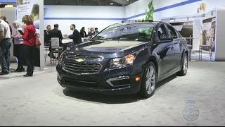 2015 Chevrolet Cruze 2014 New York Auto Show
