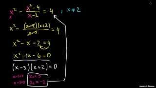 Reševanje racionalnih enačb 3