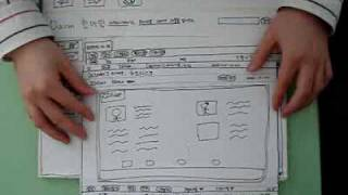 Hanmail Paper Prototype