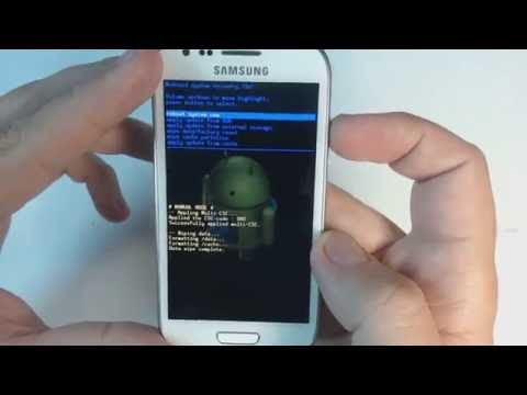 Samsung Galaxy S3 mini I8190 hard reset