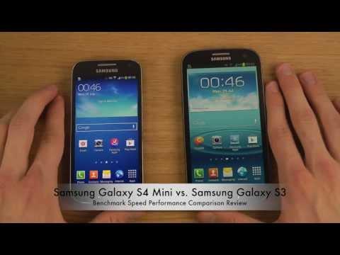 Samsung Galaxy S4 Mini vs. Samsung Galaxy S3 - Benchmark Speed Performance Comparison Review