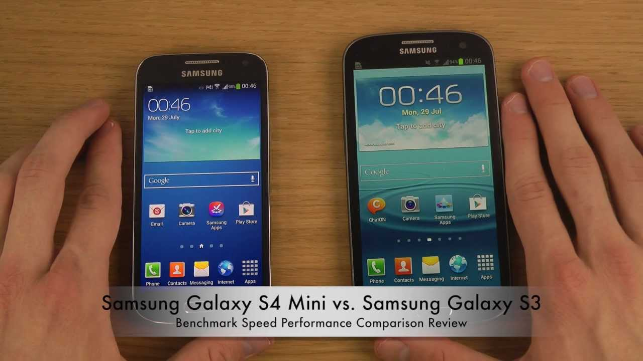Samsung Galaxy S4 vs S3 Mini