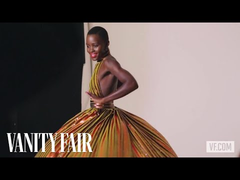 Lupita Nyong'o Poses for the Vanities Opener