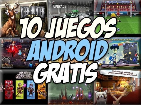TOP 10 juegos para android GRATIS DESTACADOS| Deer Hunter 2014 - Happy Tech
