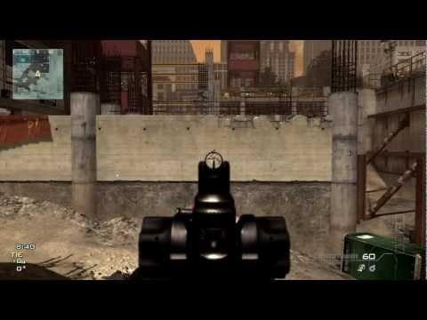 MW3 Assault Rifle Tutorial - Live Gameplay - Reviews on all rifles including Type 95 FAD and more!