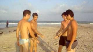 Pelada Pelados Na Praia!