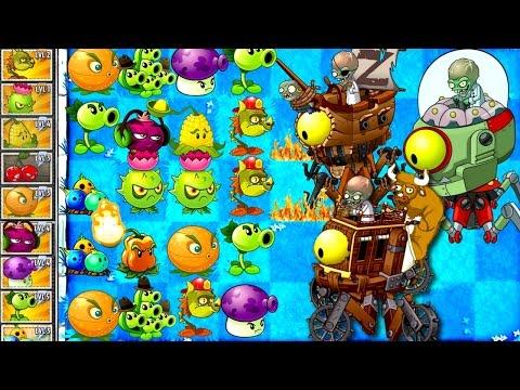 Plants vs. Zombies 2 NEW Final Boss: Dr, Zomboss Fight!