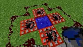 Minecraft: Redstone. Tipos de cañones
