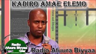 Radio Afuura Biyyaa: Interview with Ob. Kadiro Elemo on His New Book