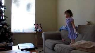 3 Year Old Sings And Dances To Disney's Frozen LET IT GO