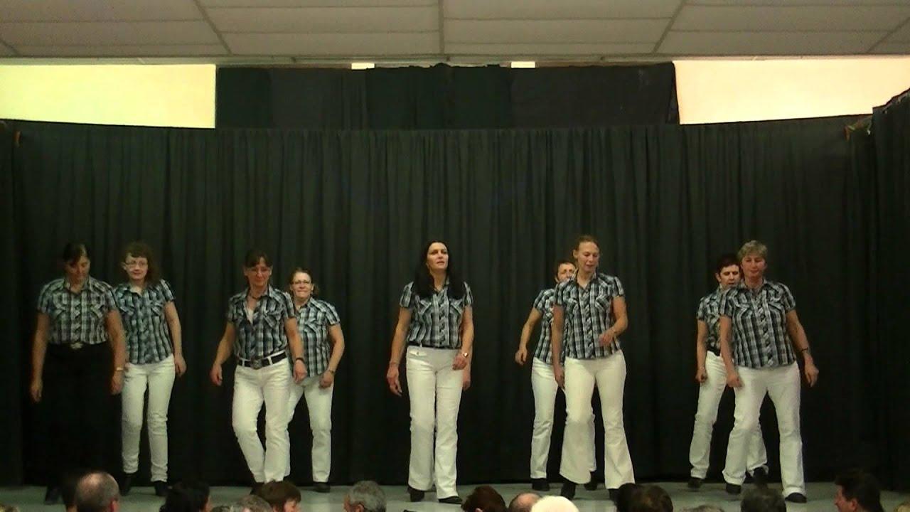 Démo club country Roumens téléthon 2012