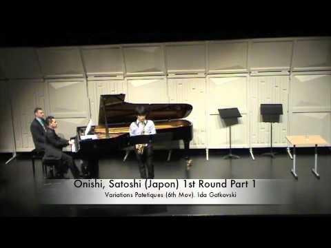 Onishi, Satoshi (Japon) 1st Round Part 1