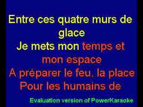 Giles Vigneault - Mon pays c'est l'hiver Karaoké