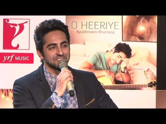 Ayushmann Khurrana Launches Debut Single 'O Heeriye'