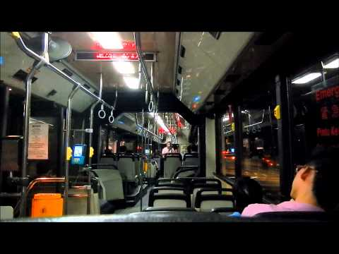 SMRT: Ride On TIB992U [Service 67] Mercedes-Benz O405G (Hispano MK2)