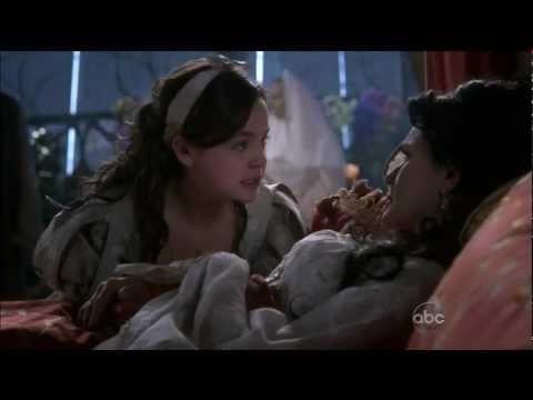 "Once Upon A Time  2x15 ""The Queen Is Dead""  Snow & Her Mother Tearful Goodbye HD"
