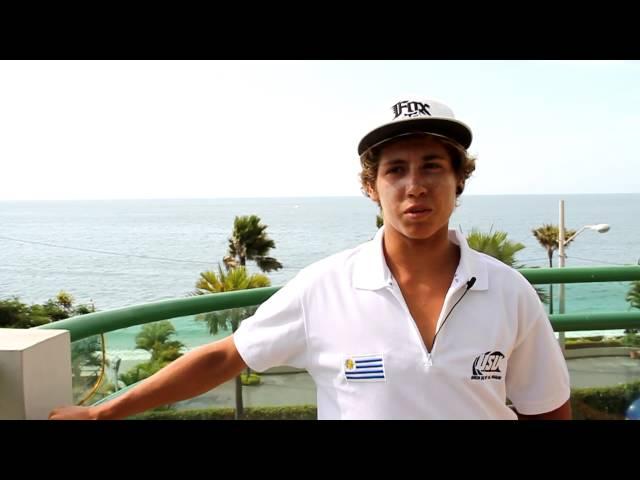 Nahuel Cardona URU - 2014 VISSLA ISA World Junior Surfing Championship