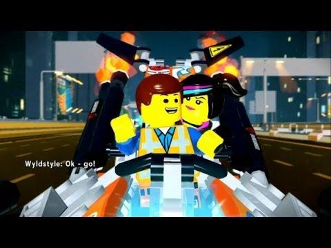 The LEGO Movie Videogame Walkthrough Part 2 - Escape From Bricksburg