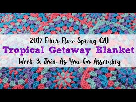 2017 Fiber Flux Spring CAL Week 3: Join As You Go Assembly, Episode 403