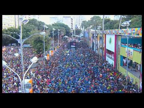 SBT Folia 2014 - Psirico coloca multidão para dançar o Lepo Lepo