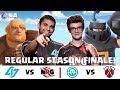 CRL North America:  CLG v. NRG   Immortals v. Tribe Gaming