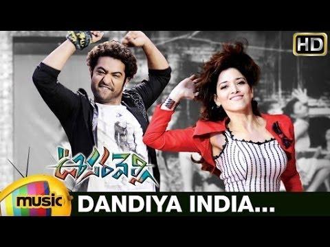 Dandiya India Video Song | Oosaravelli Telugu Movie Video Songs | Jr NTR | Tamanna | DSP
