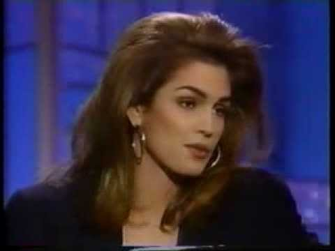 Cindy Crawford Arsenio Hall Show 1990