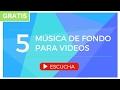 M sica de Fondo para Videos Presentaciones Educativos YouTube Instrumental GRATIS