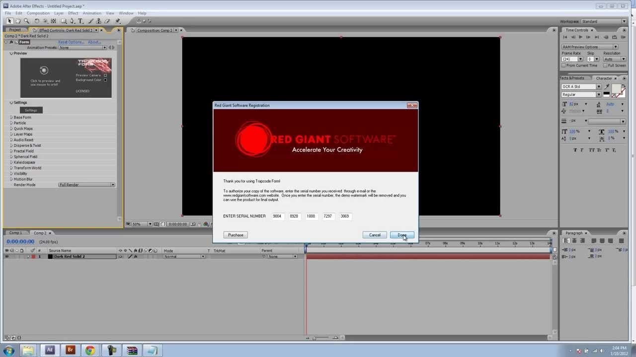 adobe after effects cs5 serial number crack