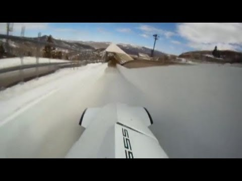 BMW Bobsled Hits Five Gs as You Race Down the Track