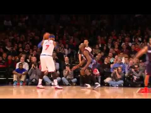 Carmelo Anthony breaks MSG record!!! goes for 62 pts!!