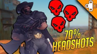 70% Headshot Accuracy! - Overwatch Funny & Epic Moments 336