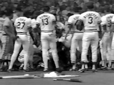 The Greatest Baseball Fight Cardinals 1987 or 88 St. Louis