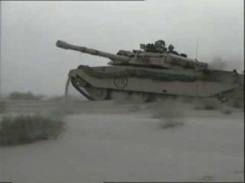 1990-1991   Gulf War -  tanks blitz