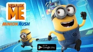 Despicable Me: Minion Rush, Prezenat Pe Tableta IPad Mini