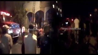 بالفيديو..العافية شعلات فدار بالحي المحمدي و الناس سخفو |