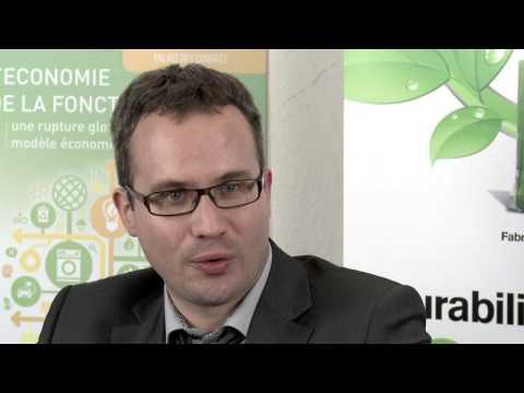 Conférence internationale - L'économie de la fonctionnalité: Damien Morineaux