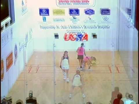 2001 U.S. Open Women's Pro Final: Paraiso vs Wachtel