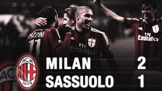 Milan-Sassuolo 2-1 Highlights | AC Milan Official