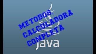 Curso java: Videotutorial 9 Calculadora Java