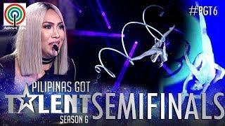 Pilipinas Got Talent 2018 Semifinals: Kristel De Catalina - Spiral Pole Dancing
