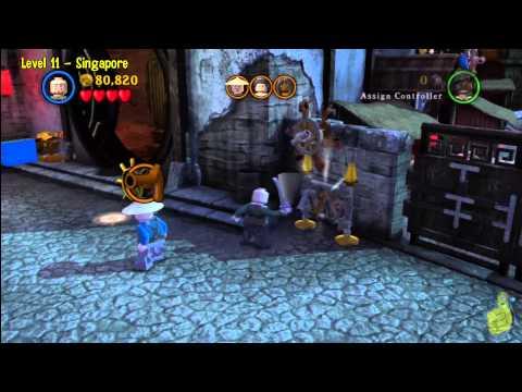 Lego Pirates of the Caribbean: Level 11 Singapore - Story Walkthrough - HTG