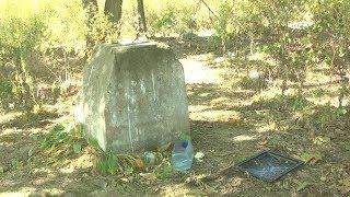 Забытая память. В лесном массиве в районе ост. «Зелёная» найден заброшенный монумент.