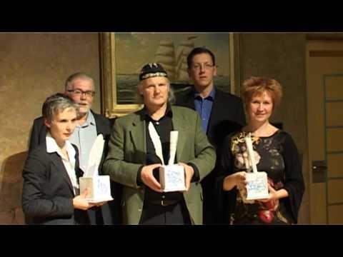 Смотреть видео В Вентспилсе вручены «Серебряные чернильницы»