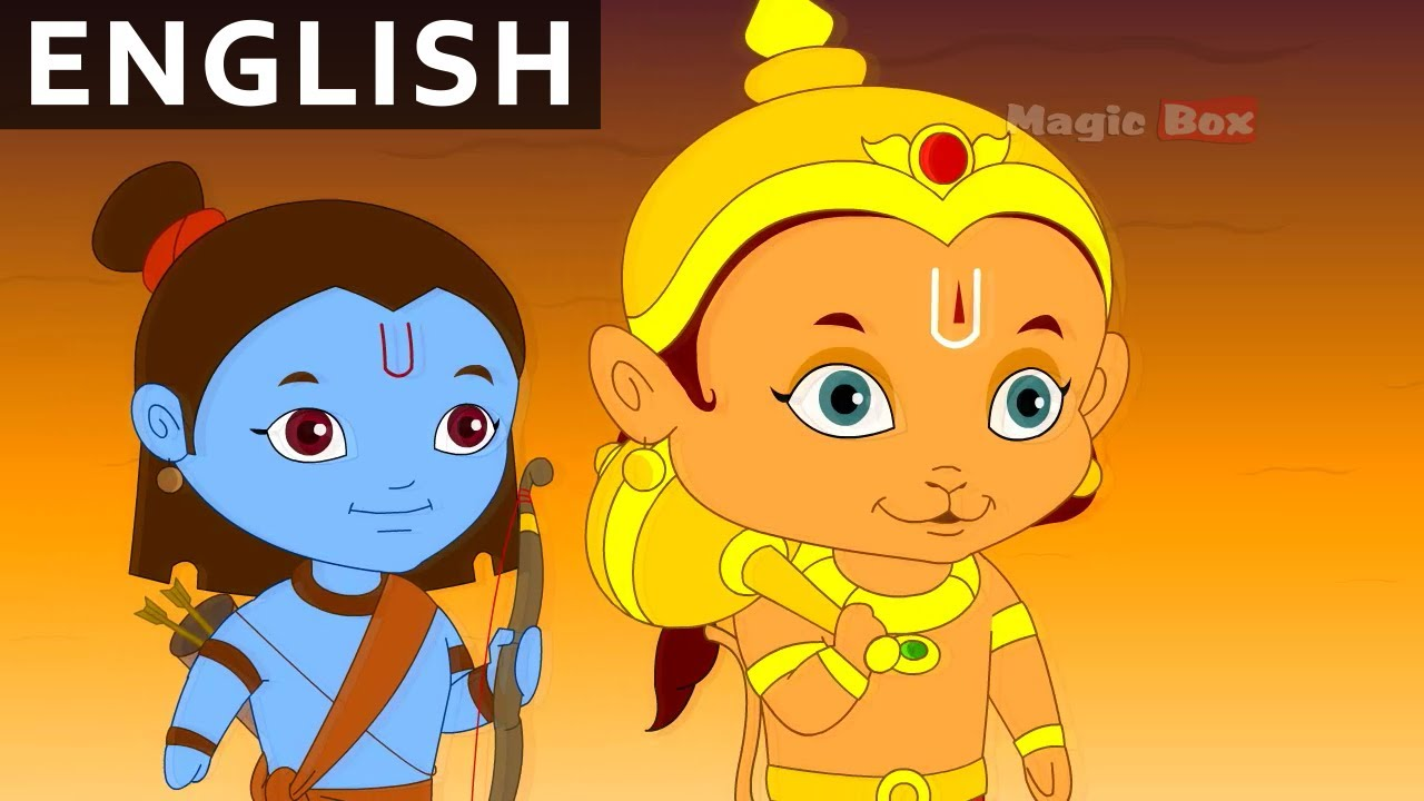 Hanuman Saves Lakshmana Hanuman In English Animation