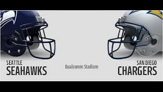 Seattle Seahawks Vs San Diego Chargers WEEK 2 NFL PREVIEW