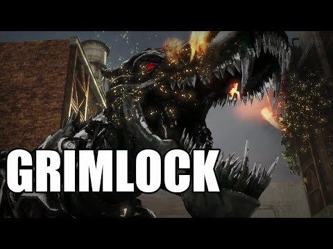 Transformers: Rise of the Dark Spark - Grimlock Gameplay